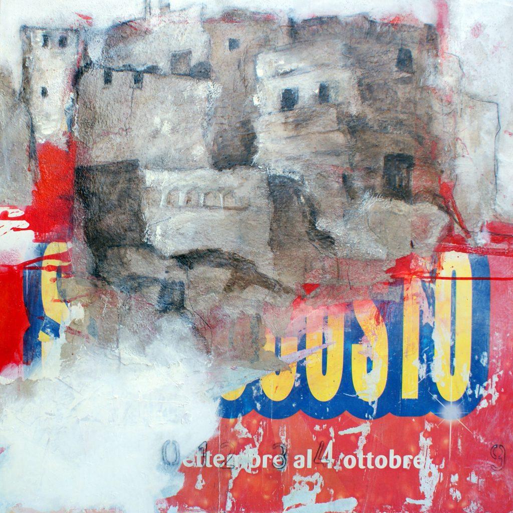 Sotto costo, 100 x 100 cm, Mischtechnik, 2010