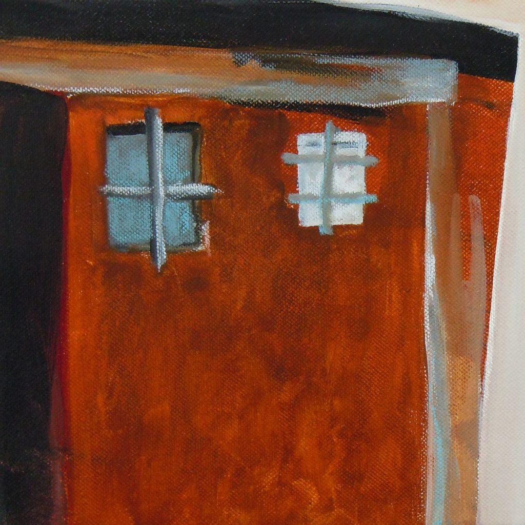 Farrera, 20 x 20 cm, Acryl auf Leinen, 2013