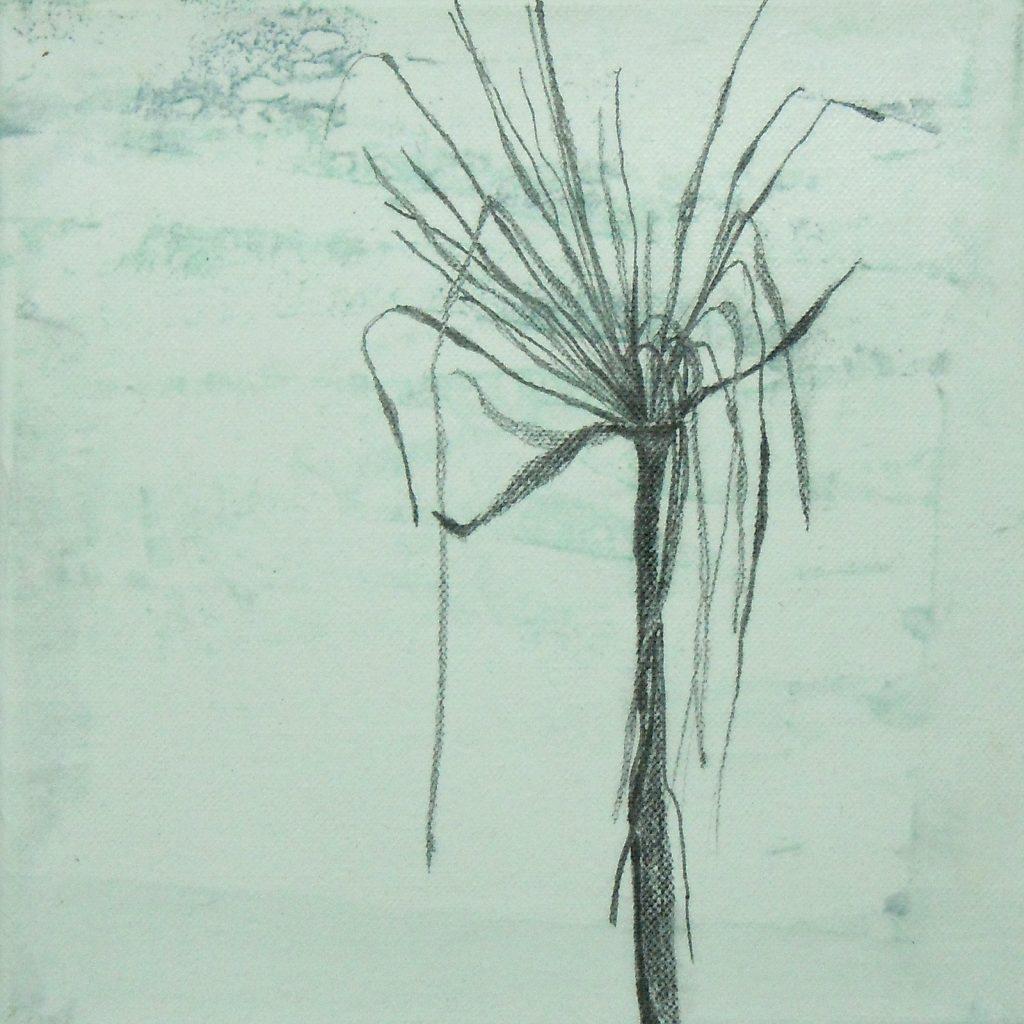 Überleben, 20 x 20 cm, Mischtechnik, 2013