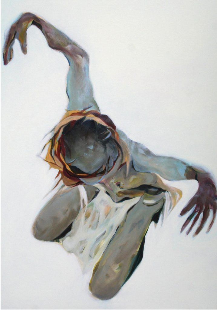 Unterwegs, 100 x 70 cm, Acryl auf Leinen, 2008