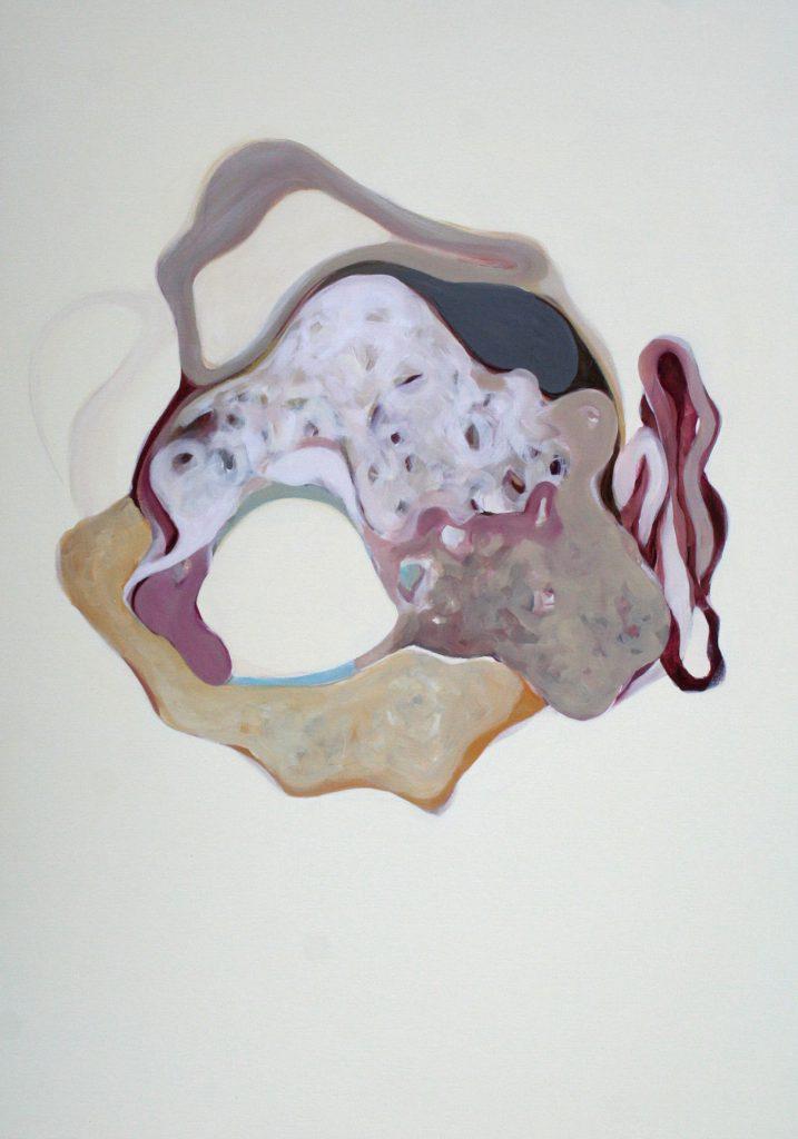Versprechen, 100 x 70 cm, Acryl auf Leinen, 2008