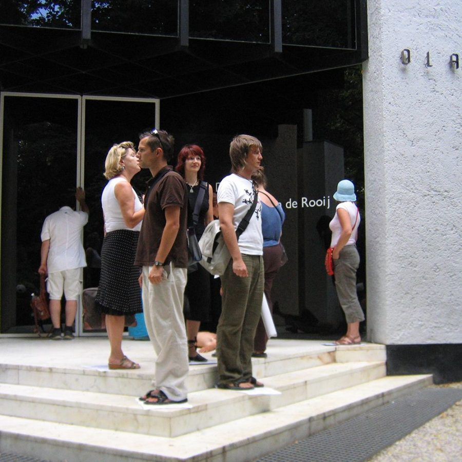 Gemeinsam outside: Andreas Röck, Susanne Riegelnik, Thomas Schafferer, Ursula Mairamhof, Thomas Riess, Christine Oehlinger, Britta Fugger