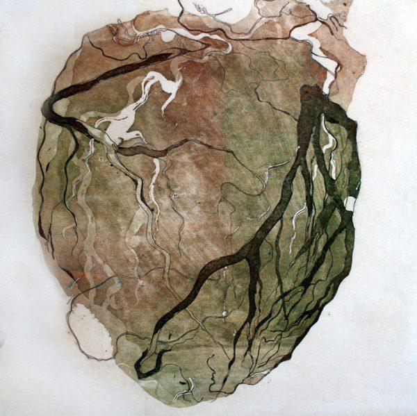 Heartbeat, 20 x 20 cm, Radierung, 2007