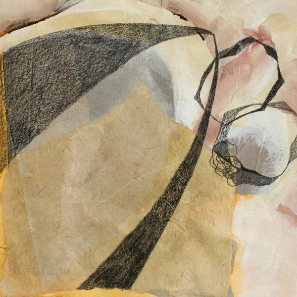 Seferihisar, Läuterung, 24 x 24 cm, Mischtechnik auf Papier, 2010