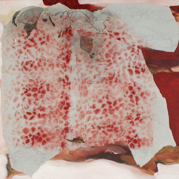 Türkische Erde, 40 x 40 cm, Mischtechnik, 2010