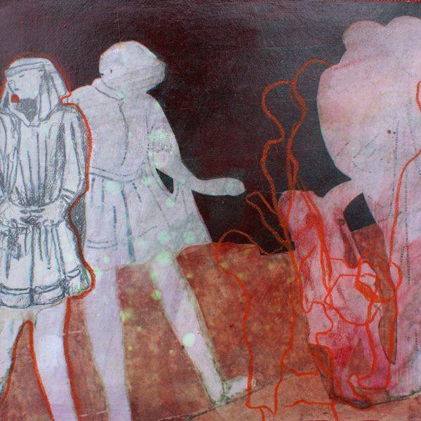 Siena, 20 x 20 cm, Mischtechnik, 2010