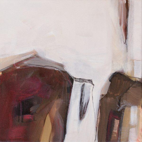 Sehnsucht 2, 20 x 20 cm, Acryl auf Leinen, 2010
