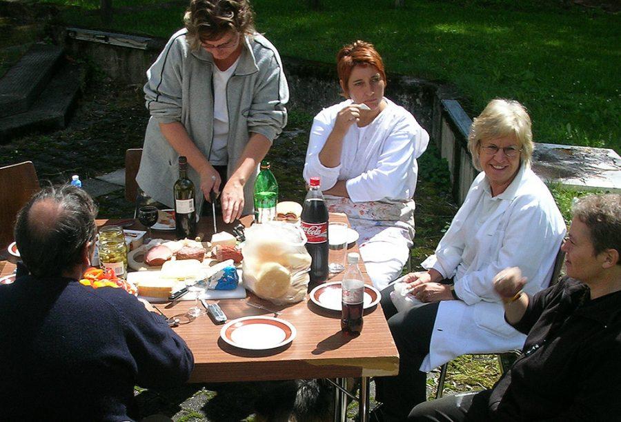 Leib und Seele: János Sebestyèn, Lisa Krabichler, Marika Wille-Jais, Gabriele Brüchert, Karin Hell-Schatz