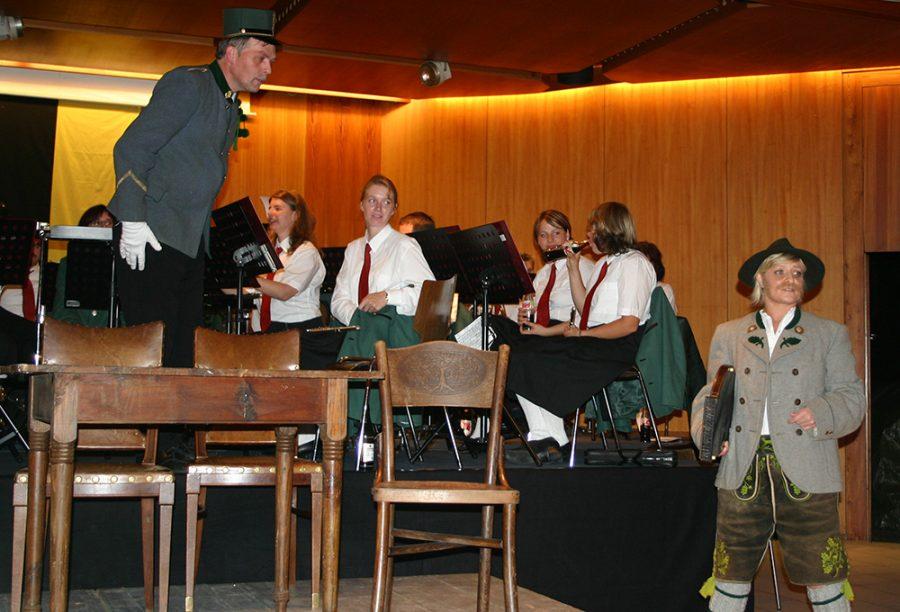 """Franz-Kranewitter-Bühne in Kooperation mit der Musikkapelle Nassereith: """"Der Kaiser kommt"""""""