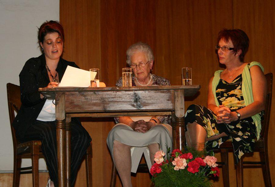 Lesung: Cornelia Huber, Anneliese Thurner und Silvia Walter