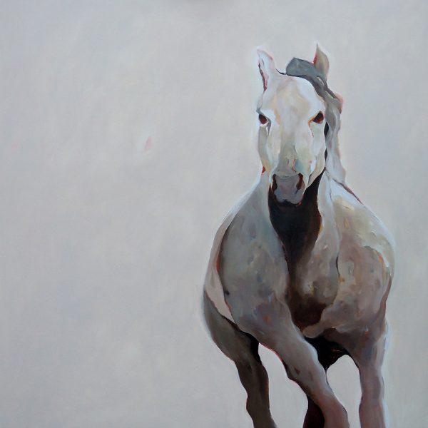 Si chiama Arturo, 100 x 100 cm, Acryl auf Leinen, 2011