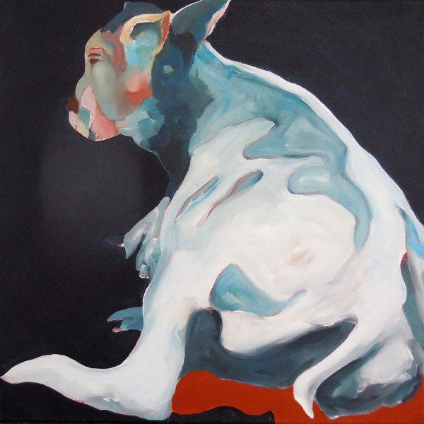 Jeannie, 50 x 50 cm, Acryl auf Leinen, 2009