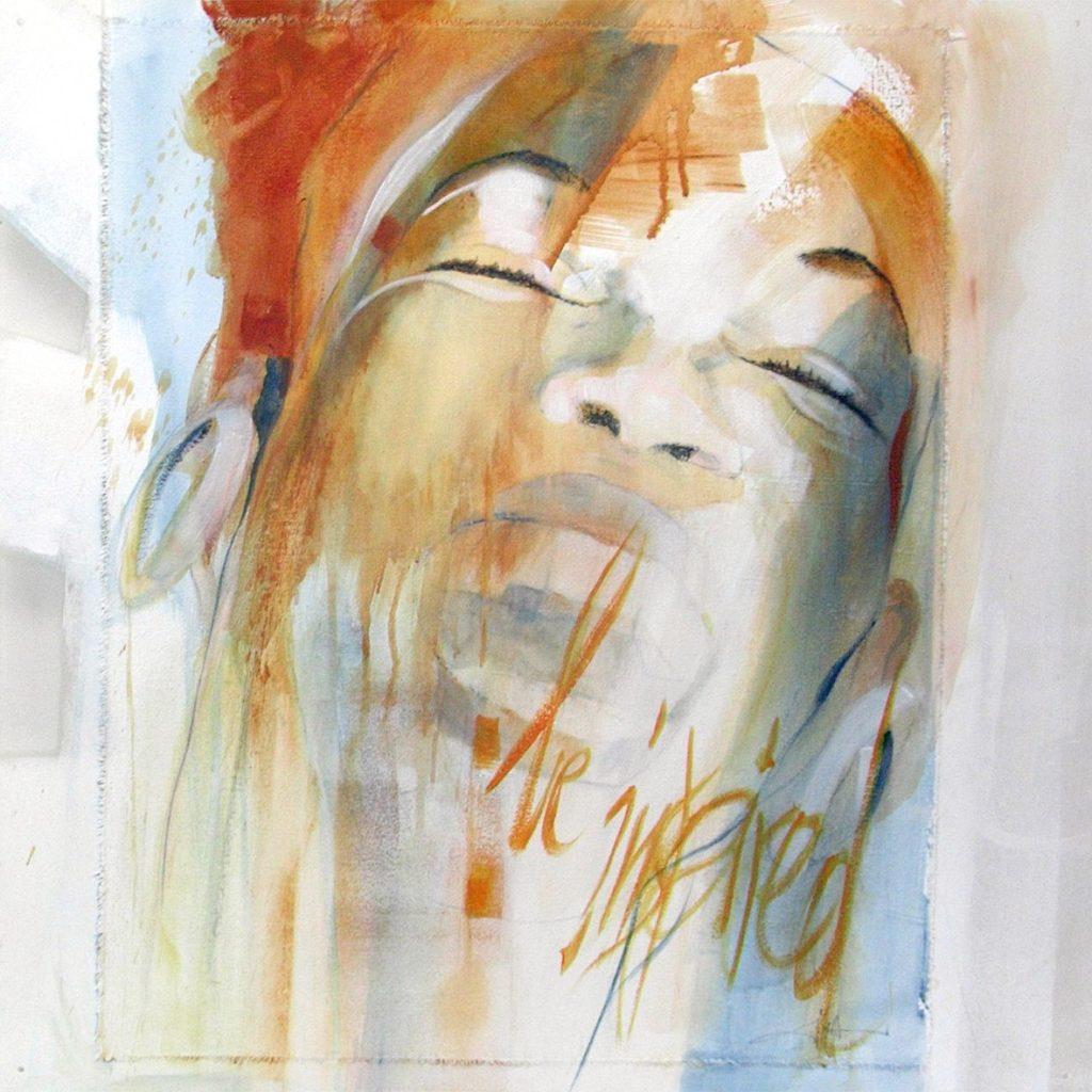 Kuba libre, 60 x 60 cm, Mischtechnik auf Plexiglas, 2005