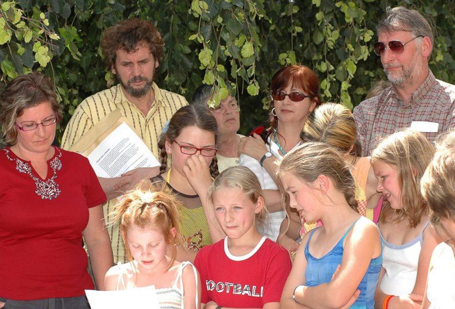Die Verantwortlichen, Abschlussfest im Sprengerpark