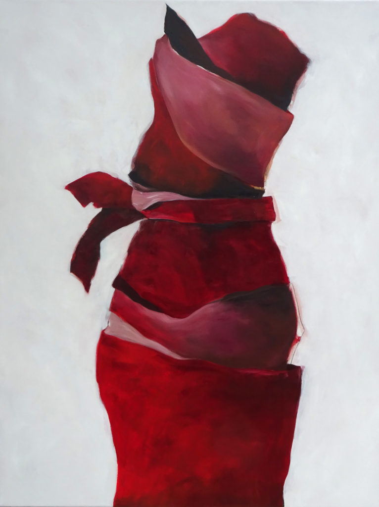 Dress, 130 x 100 cm, Acryl auf Leinen, 2018