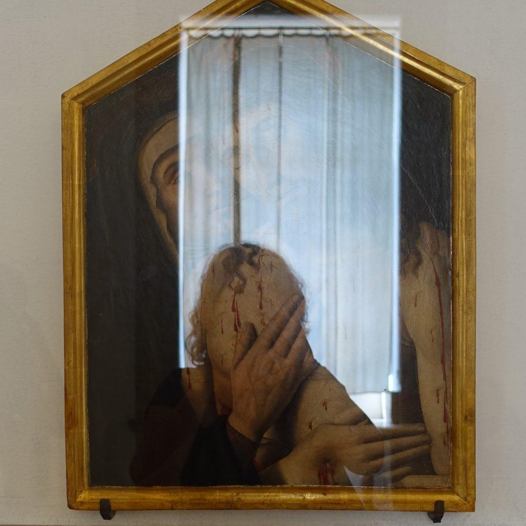 META-SPACE | self in a mirror, Fotografie, Palazzo Ducale (unbek. Künstler), Urbino, 25.9.2019