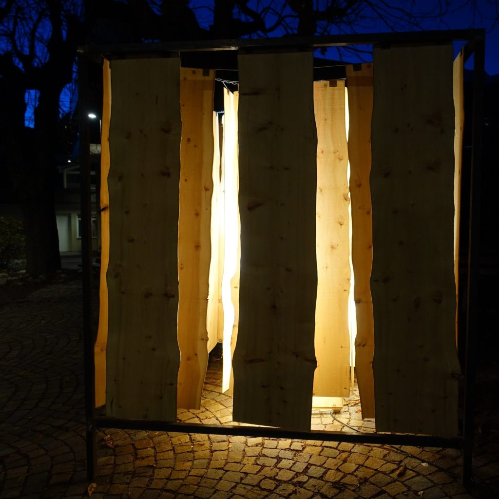 Paul S. Feichter, Lichtinstallation, Am Stadtplatz