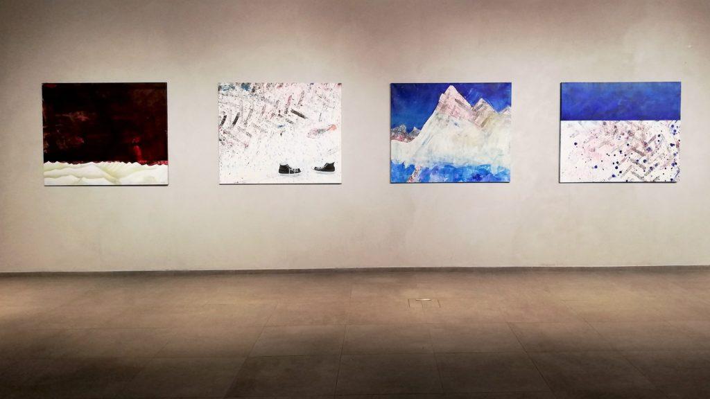 Ausstellungsansicht, Berge & mehr