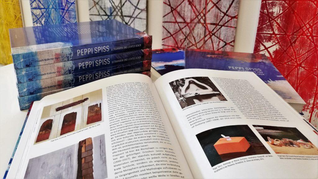 Peppi Spiss, Ultramarin und lichtes Ocker. Biografie und Ausstellungskatalog