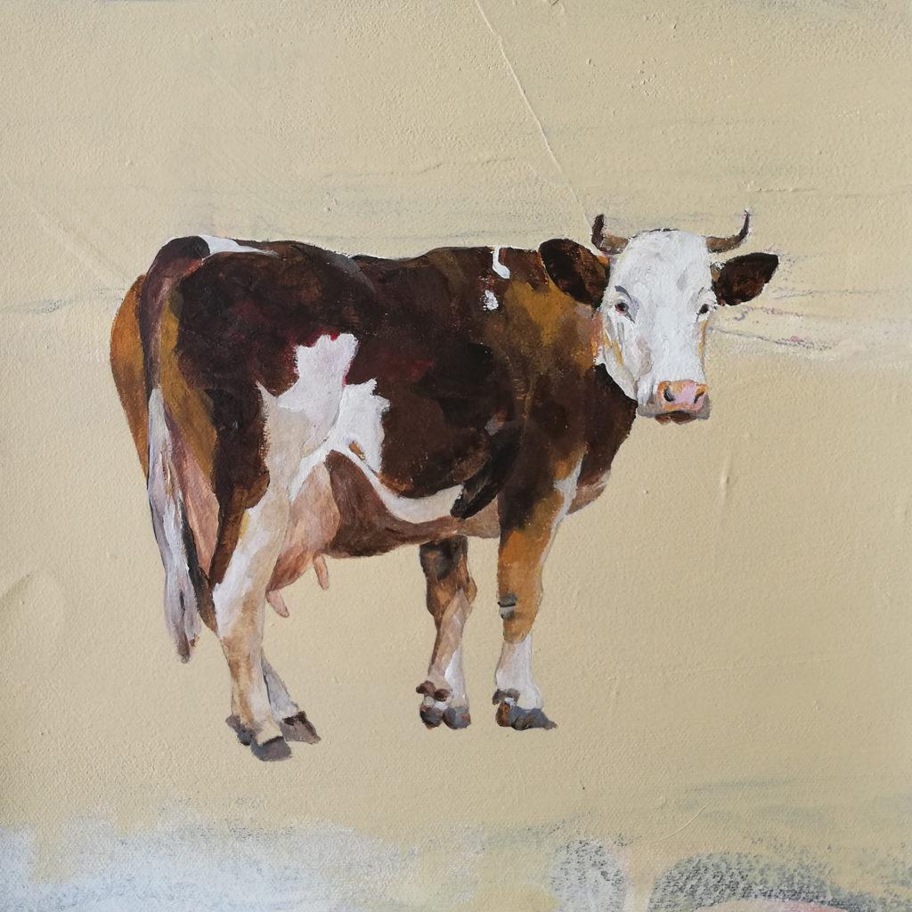 Childhood, 30 x 30 cm, Acryl auf Leinen, 2020