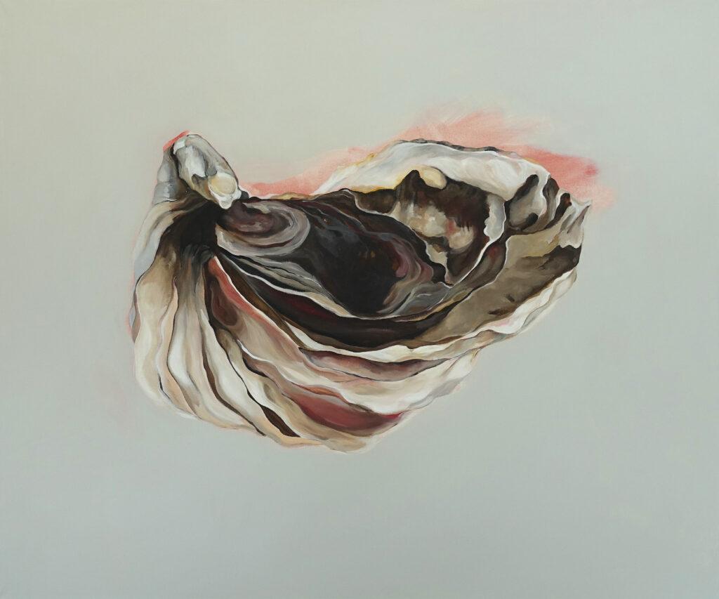 Longing for strangers II, Acryl auf Leinen, 100 x 120 cm, 2021
